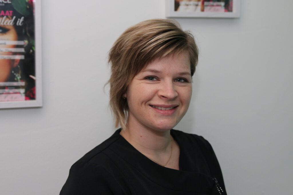Nancy van den Broek  eigenaar Nail-cy